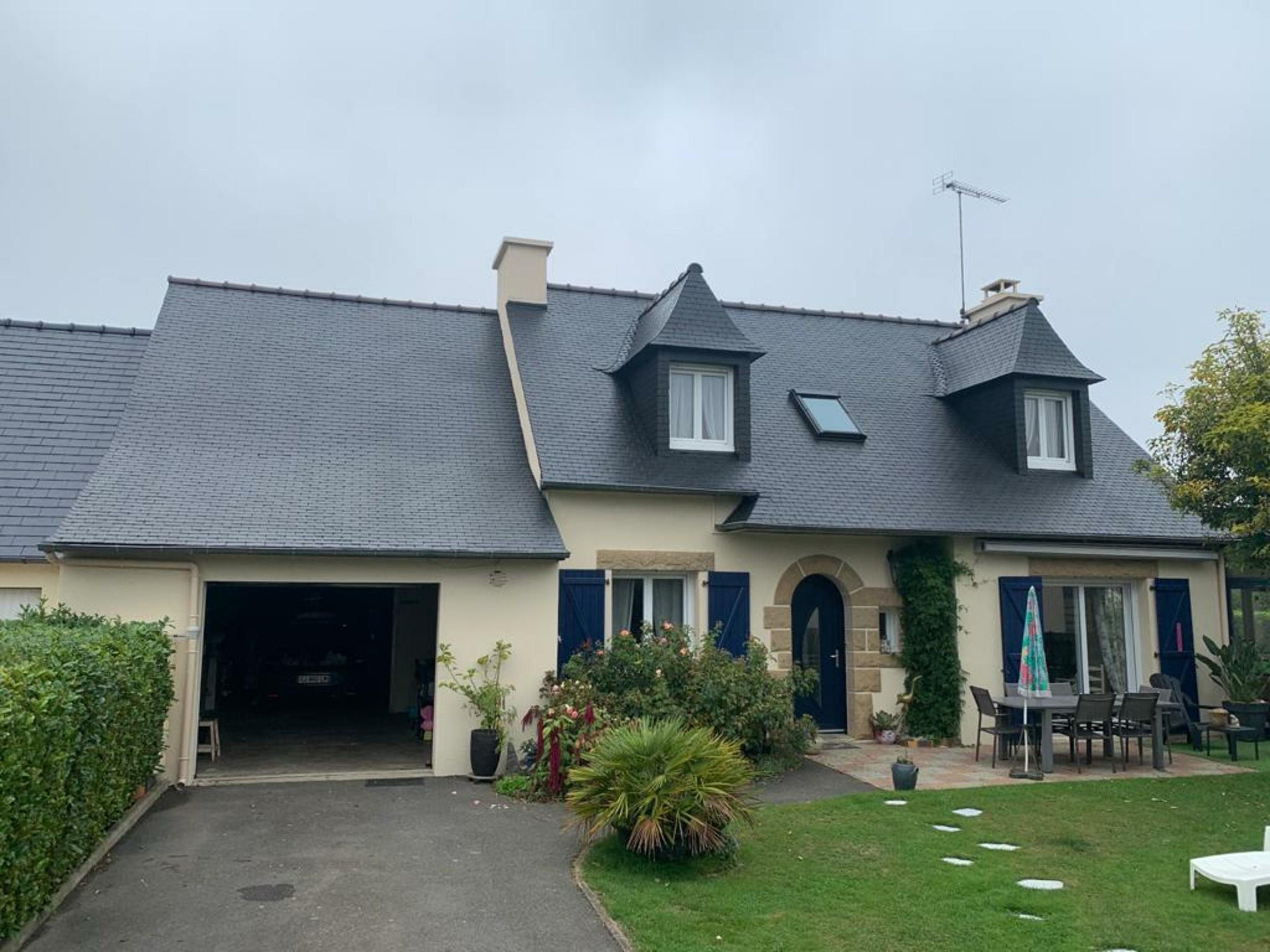 Hydrofuge ardoise naturelle à Trégueux(22)