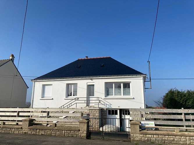 Hydrofuge sur toiture - Plouray 4