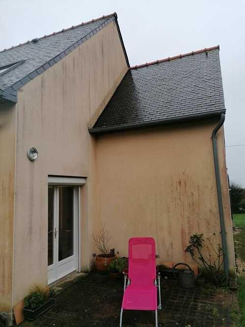 Rénovation façade - revêtement hydrofuge - Pordic index